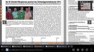 Artikel VG-Infoblatt Turnier