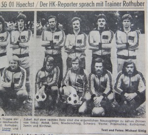 HK 21.07.1977 Trainingsauftakt_Neuzugänge