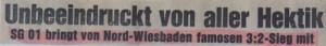 Header zum 3 zu 2 bei Nord-Wiesbaden