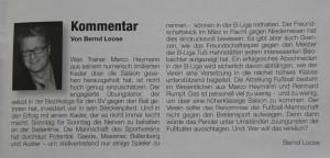 Kommentar zum Aufstieg - SV-Kurier 02/2014